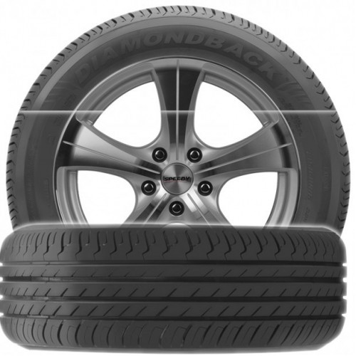 Diamondback TR918 215/55 R17 speciali kaina