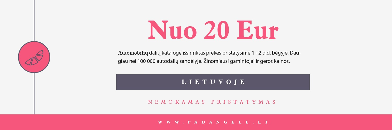 Nemokamas pristatymas Lietuvoje