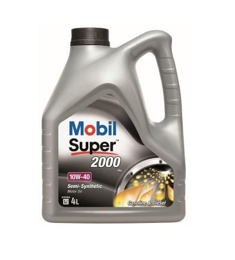 Mobil alyva 10W40 Super 2000 speciali kaina